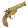 show larger image of product view 1 : Original British WWI - WWII 1916 Dated MkIII* Webley & Scott Brass Flare Signal Pistol - Serial 94890 Original Items