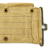 show larger image of product view 5 : Original U.S. WWII British-made Garand and Springfield M1923 Ammunition Belt by M.E.Co. - Dated 1944 Original Items