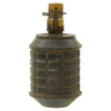 show larger image of product view 3 : Original Japanese WWII Type 97 Inert Fragmentation Hand Grenade with Fuse and Detonator Original Items