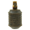 show larger image of product view 4 : Original Japanese WWII Type 97 Inert Fragmentation Hand Grenade with Fuse and Detonator Original Items