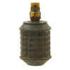 show larger image of product view 6 : Original Japanese WWII Type 97 Inert Fragmentation Hand Grenade with Fuse and Detonator Original Items