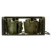 show larger image of product view 4 : Original German WWII MG 34 MG 42 Basket Belt Carriers in Transport Frame - Maker Marked and Dated Original Items