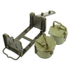 show larger image of product view 6 : Original German WWII MG 34 MG 42 Basket Belt Carriers in Transport Frame - Maker Marked and Dated Original Items
