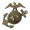 show larger image of product view 2 : Original U.S. WWI USMC Officer EGA Collar Emblem Set Original Items