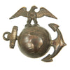 show larger image of product view 5 : Original U.S. WWI USMC Officer EGA Collar Emblem Set Original Items
