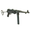 show larger image of product view 1 : Original German WWII 1940 Dated MP 40 Display Gun by C.G. Haenel with Live Barrel & Magazine - Maschinenpistole 40 Original Items