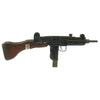 show larger image of product view 3 : Original Israeli UZI Display Submachine Gun with Wood Stock - dated 1961 Original Items