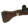 show larger image of product view 5 : Original Israeli UZI Display Submachine Gun with Wood Stock - dated 1961 Original Items