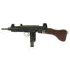 show larger image of product view 4 : Original Israeli UZI Display Submachine Gun with Wood Stock - dated 1961 Original Items