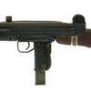 show larger image of product view 9 : Original Israeli UZI Display Submachine Gun with Wood Stock - dated 1961 Original Items