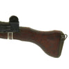 show larger image of product view 10 : Original Israeli UZI Display Submachine Gun with Wood Stock - dated 1961 Original Items