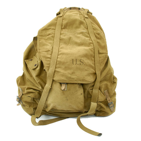 Original U.S. WWII Army M1942 Mountain Backpack - Rucksack with Frame by Simmons Co. - dated 1942 Original Items