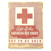 show larger image of product view 6 : Original U.S. WWII Plane Identification Flash Cards and American Red Cross Playing Cards Set Original Items