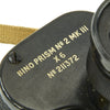 show larger image of product view 15 : Original British WWII No.2 Mk.III 6X Binoculars with 1940 dated Canadian Case Original Items