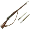 show larger image of product view 1 : Original U.S. Springfield M1896 .30-40 Krag-Jørgensen Rifle Serial 93120 with Bayonet & Sling - Made in 1898 Original Items