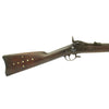 show larger image of product view 6 : Original U.S. Early Springfield Trapdoor Model 1873 Rifle made in 1875 with Tack Decoration - Serial No 53993 Original Items