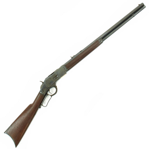 Original U.S. Winchester Model 1873 .38-40 Rifle with Octagonal Barrel made in 1890 - Serial 336626B Original Items