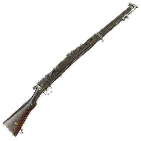 Original British WWI / WWII Lee-Enfield MkI Dated 1898 Converted to S.M.L.E. in 1905 and then to .22 Trainer Original Items