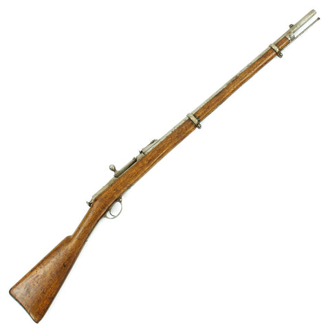 Original Imperial Russian M1870 Berdan II Rifle with Crest Brought Back from Afghanistan - Dated 1883 Original Items