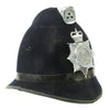show larger image of product view 2 : Original British Comb Top Queen's Crown Bobby Helmet from the Norfolk Constabulary Original Items