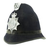 show larger image of product view 8 : Original British Comb Top Queen's Crown Bobby Helmet from the Norfolk Constabulary Original Items