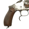 "show larger image of product view 5 : Original U.S. Smith & Wesson Nickel-Plated Russian Third Model No. 3 Revolver with ""SH"" Marking - Serial 42835 Original Items"