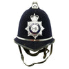show larger image of product view 1 : Original British Comb Top E II R Bobby Helmet from the Ministry of Defence Police Original Items