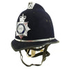 show larger image of product view 5 : Original British Comb Top E II R Bobby Helmet from the Ministry of Defence Police Original Items