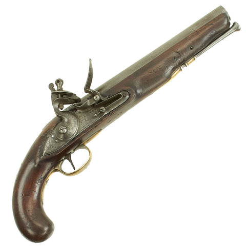 "Original British Napoleonic Tower Marked Heavy Dragoon Flintlock Pistol marked to the 2nd Dragoons ""Scots Greys"" - circa 1800 Original Items"