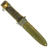 show larger image of product view 3 : Original U.S. WWII 1943 Dated Blade Marked M3 Fighting Knife by Utica Cutlery with Updated M8 Scabbard Original Items