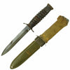 show larger image of product view 2 : Original U.S. WWII 1943 Dated Blade Marked M3 Fighting Knife by Utica Cutlery with Updated M8 Scabbard Original Items