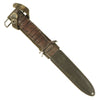 show larger image of product view 3 : Original U.S. WWII Blade Marked M3 Fighting Knife by PAL Cutlery Co. with M8 Scabbard Original Items