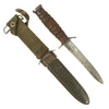 show larger image of product view 1 : Original U.S. WWII Blade Marked M3 Fighting Knife by PAL Cutlery Co. with M8 Scabbard Original Items