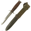 show larger image of product view 2 : Original U.S. WWII Blade Marked M3 Fighting Knife by PAL Cutlery Co. with M8 Scabbard Original Items