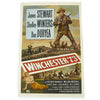 show larger image of product view 1 : Original U.S. Vintage Winchester '73 James Stewart Lobby Poster - 1958 Release Original Items