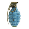 show larger image of product view 2 : Original U.S. WWII MkII Inert Practice Pineapple Fragmentation Hand Grenade Original Items