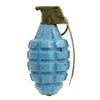 show larger image of product view 4 : Original U.S. WWII MkII Inert Practice Pineapple Fragmentation Hand Grenade Original Items