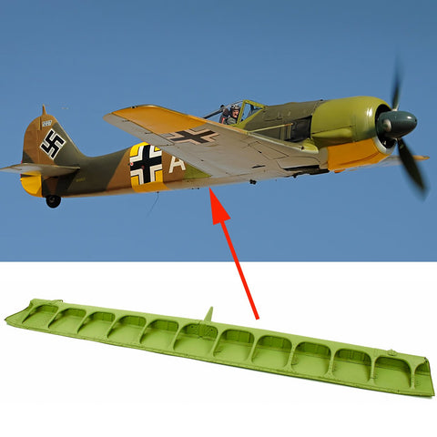 Original German WWII Focke-Wulf Fw 190 Fighter Aircraft Wing Flap Original Items
