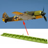 show larger image of product view 1 : Original German WWII Focke-Wulf Fw 190 Fighter Aircraft Wing Flap Original Items