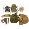 show larger image of product view 2 : Trunk of Assorted Grade 2 Original Military Antiques and Reproductions - Box 87 Original Items