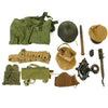 show larger image of product view 2 : Trunk of Assorted Grade 2 Original Military Antiques and Reproductions - Box 96 Original Items