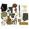 show larger image of product view 2 : Trunk of Assorted Grade 2 Original Military Antiques and Reproductions - Box 99 Original Items