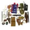 show larger image of product view 2 : Trunk of Assorted Grade 2 Original Military Antiques and Reproductions - Box 108 Original Items