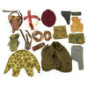 show larger image of product view 2 : Trunk of Assorted Grade 2 Original Military Antiques and Reproductions - Box 111 Original Items