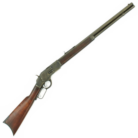 Original U.S. Winchester Model 1873 .44-40 Rifle with Octagonal Barrel made in 1889 - Serial 302510 Original Items