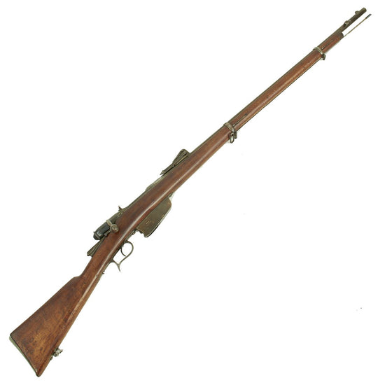 Original Italian Vetterli M1870/87/15 Infantry Rifle made in Torino Converted to 6.5mm - Dated 1882 Original Items