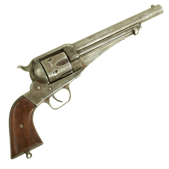 Original U.S. Remington M-1875 Single Action Army 44cal. Revolver named to O.B. Gibson - Serial No 85 Original Items