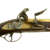 show larger image of product view 15 : Original Revolutionary War British Captain Philip Skene Royal Commission and Brass Barrel Flintlock Pistol with Carnelian Intaglio Seal Ring Original Items