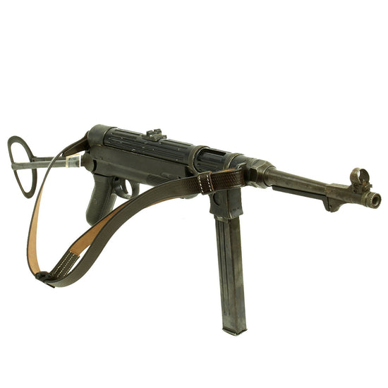 Original WWII German 1941 Dated MP 38 Display Gun by ERMA - Maschinenpistole 38 Original Items