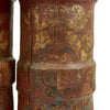 show larger image of product view 3 : Original 19th Century British Royal Navy Powder Monkey Bucket Set Original Items